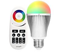 Недорогие -9 Вт. 900 lm E27 Умная LED лампа A60(A19) 20 светодиоды SMD 5730 Инфракрасный датчик Диммируемая На пульте управления WiFi Контроль APP