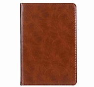 For Case Cover Magnetic Full Body Case Solid Color Hard Genuine Leather for Apple iPad Mini 4 iPad Mini 3/2/1