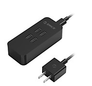 ORICO DCV-4U 4-port USB Charger  with Smart Identification