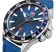 MINI FOCUS Men's Sport Fashion Watches Wristwatch Unique Creative Calendar Quartz Silicone Band Luxury Business Clock Relogio Masculino Hombre