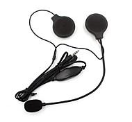 3.5mm Motorcycle Helmet Earphone Headset Sport Stereo Hearphone Microphone For MP3 Player Helmet Headset Phone Music Device Earphone accessories