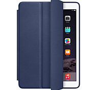 cheap -For Case Cover Shockproof Auto Sleep/Wake Up Full Body Case Solid Color Hard PU Leather for Apple iPad pro 10.5 iPad (2017) iPad Pro
