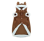 Dog Costume Dog Clothes Christmas Cosplay Christmas Coffee Costume For Pets