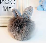 Bag / Phone / Keychain Charm Rabbit Cartoon Toy Fur Ball Faux Fur