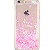 Случай для яблока iphone 7 плюс iphone 7 крышка текущая жидкость задняя крышка случае блеск блеск жесткий ПК iphone 6s плюс iphone 6 плюс