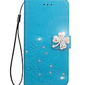 economico -Custodia Per Asus Zenfone 2 ZE550KL Laser Asus Asus Zenfone 5 Porta-carte di credito A portafoglio Con diamantini Con supporto Con