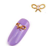 5PCS  Alloy Inlay Jewel Nail Art Decoration
