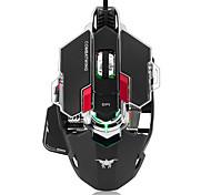 Недорогие -Боевая игра игровая мышь 4800 dpi оптический usb проводная профессиональная игровая мышь программируемые 10 кнопок rgb дыхание водить