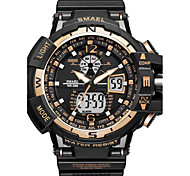 SMAEL Men's Sport Watch Fashion Watch Digital Watch Japanese Quartz Digital Chronograph Water Resistant / Water Proof Noctilucent Shock