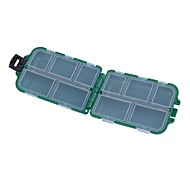 "cheap -Fishing Tackle Boxes Tackle Box Waterproof Plastic 9.5*2 2/5"" (6 cm)*3"