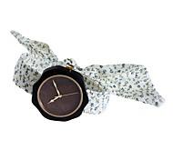 Жен. Модные часы Часы Дерево Японский Кварцевый деревянный Материал Группа Кулоны Творчество Elegant Белый