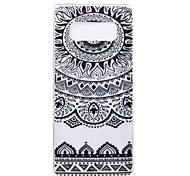 Case For Samsung Galaxy Note 8 Ultra-thin Pattern Back Cover Mandala Soft TPU for Note 8 Note 5 Edge Note 5 Note 4 Note 3 Lite Note 3