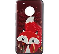 Недорогие -Кейс для Назначение Motorola С узором Кейс на заднюю панель Животное Мягкий ТПУ для Мото G5 Plus Moto G5