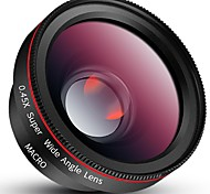 fengmangshidai объективы для смартфонов объектива 0.45x широкоугольный объектив 12.5x объектив с оптическим фокусным линз объектива для