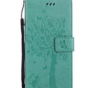 para capa de capa carteira carteira com suporte flip em relevo padrão caixa de corpo inteiro gato duro couro para sony sony xperia xz sony