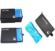 крышка шнура для шнура 100 и одноразовые мешки для машины -box 200 и сумка для ручек татуировки 400