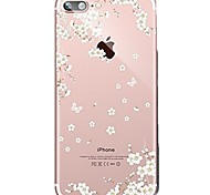 Case For Iphone 7 6 Flower TPU Soft Ultra-thin Back Cover Case Cover iPhone 7 PLUS 6 6s Plus SE 5s 5 5C 4S 4