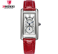 Women's Dress Watch Fashion Watch Chinese Quartz Leather Band Charm Cool Casual Black Red Brown