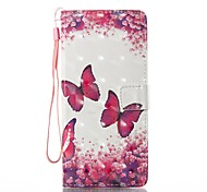 For Case Cover Card Holder Wallet with Stand Flip Magnetic Pattern Full Body Case Butterfly Hard PU Leather for Samsung Galaxy Note 8