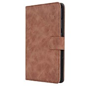 Solid Retro Style Pattern PU Leather Case with Stand for Huawei MediaPad T3 7.0 inch Tablet PC