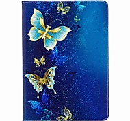 cheap -Case For Apple iPad Mini 4 iPad Mini 3/2/1 iPad 4/3/2 iPad Air 2 iPad Air iPad 10.5 Card Holder Wallet with Stand Flip Magnetic Pattern