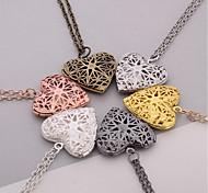 Women's Pendants Jewelry Heart Silver Plated Heart Handmade Jewelry For Dailywear Casual
