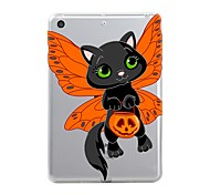cheap -Case For Apple iPad Mini 4 iPad Mini 3/2/1 iPad 4/3/2 iPad Air 2 iPad Air iPad (2017) Transparent Pattern Back Cover Halloween Soft TPU