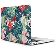 cheap -MacBook Case for MacBook Air 13-inch Macbook Air 11-inch MacBook Pro 13-inch with Retina display Flower Tree TPU Material