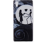 Case for Sony Xperia L1 XZ Cover Glow in the Dark Back Cover Case Sexy Lady Soft TPU