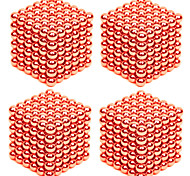 216*4PCS 3MM Golden&Silver DIY Magnetic Balls Sphere Bead Magic Cube Magnet Puzzle Building Block Toy