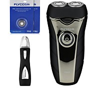 FLYCO FS876 Electric Shaver Razor Nose Device Two Spare Heads 220V Washable Head