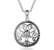 Women's Pendant Necklaces Tree of Life Sterling Silver Personalized Jewelry For Daily