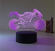 1set Decorativo Colore variabile Luce decorativa Night Light LED Luci USB-3W-Batteria USB
