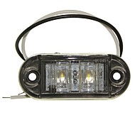 Недорогие -SENCART Автомобиль Мотоцикл Грузовик Лампы 1W W Dip LED 90lm lm 2 Внешние осветительные приборы ForУниверсальный Все года