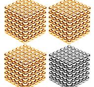Магнитные игрушки Сильные магниты из редкоземельных металлов Магнитные шарики Устройства для снятия стресса 216*4 Куски 3mm Игрушки Металл