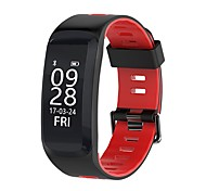 YY F4 Men's Woman Smart Bracelet Blood Oxygen/Blood Pressure/Heart Rate/Calorie/Elevation/Pressure/Weather for Android Ios
