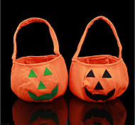 New Halloween Party Supplies Non-Woven Fabrics Pumpkin Bags Halloween Props Kids Children Toys Candy Bag