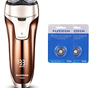 flyco fs867 электробритва бритва две запасные головки 100240v моющиеся