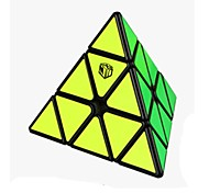 Cubo de rubik BELL 0934C-6 Cubo velocidad suave Pyraminx Anti-pop muelle ajustable Cubos Mágicos Plásticos Cuadrado Cumpleaños Navidad