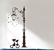 Животные Рождество Наклейки 3D наклейки Декоративные наклейки на стены,Бумага материал Украшение дома Наклейка на стену
