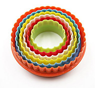 торт формы повседневного использования пластиковые творческие красочные торт плесень, инструмент для выпечки