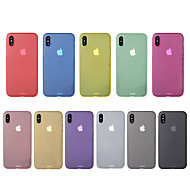 For iPhone X iPhone 8 Case Cover Ultra-thin Back Cover Case Solid Color Hard PC for Apple iPhone X iPhone 8 Plus iPhone 8 iPhone 7 Plus