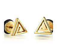 Men's Stud Earrings Fashion Rock Titanium Steel Jewelry For Daily Casual