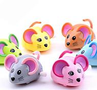 Недорогие -Обучающая игрушка Игрушка с заводом Игрушечные машинки Игрушки Мышь Животный принт Пластик Куски Не указано Подарок