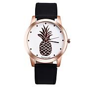 Недорогие -Жен. Модные часы Уникальный творческий часы Повседневные часы Китайский Кварцевый Секундомер Защита от влаги Кожа Натуральная кожа Группа