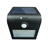 BRELONG Solar PIR Light 24 x SMD 2835 6W 500Lm Cordless Waterproof Human Body Induction