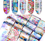 16 Nail Art Sticker  Water Transfer Decals Makeup Cosmetic Nail Art Design