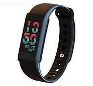cheap -Smart Bracelet iOS Android Water Resistant / Water Proof Calories Burned Pedometers Exercise Record Heart Rate Monitor Touch Screen Alarm