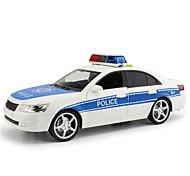 Illuminazione LED Oggettistica per feste Macchinina giocattolo Veicolo Macchinine giocattolo Auto della polizia Giocattoli Autovetture