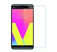 Недорогие -Защитная плёнка для экрана LG для LG V20 Закаленное стекло 1 ед. Защитная пленка для экрана Защита от царапин 2.5D закругленные углы